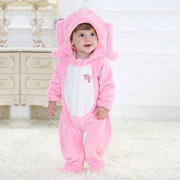 Virgo Onesie for Baby & Toddler Constellation Kigurumi Pajama Party Costumes