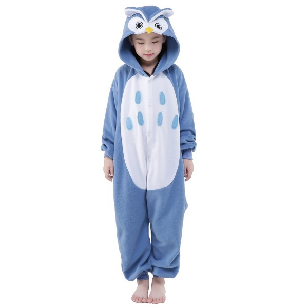 Owl Onesie for Kid Animal Kigurumi Pajama Halloween Costumes