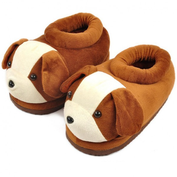 Dog Unisex Plush Paw Claw House Slippers Animal Costume Shoes
