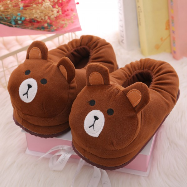 Bear Unisex Plush Paw Claw House Slippers Animal Costume Shoes