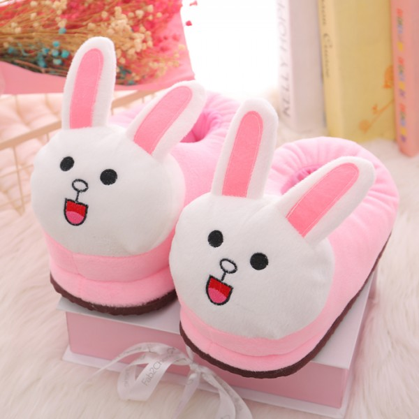 Cute rabbit Slippers Animal Costume Shoes